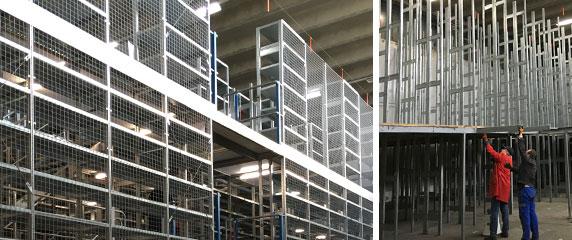 Es war im März 2016 als uns bei AUTEX eine dreigeschossige Stahl-Fachboden Regalanlage zum Kauf angeboten wurde. Der Preis war verlockend, allerdings stand die Anlage noch aufgebaut in einer Industriehalle im Kölner Westen. Und: Es sollte schnell gehen